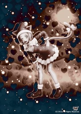 「クリスマス猫さん」03(ART01)