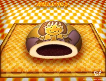 「猫パン」02「猫あんぱん」