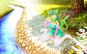 「緑猫さん2014」04(背景合わせイメージ).jpg